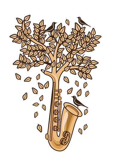 Saxophone Tree