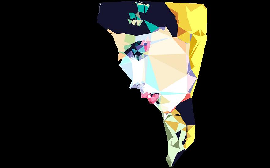 Geometric girl  8