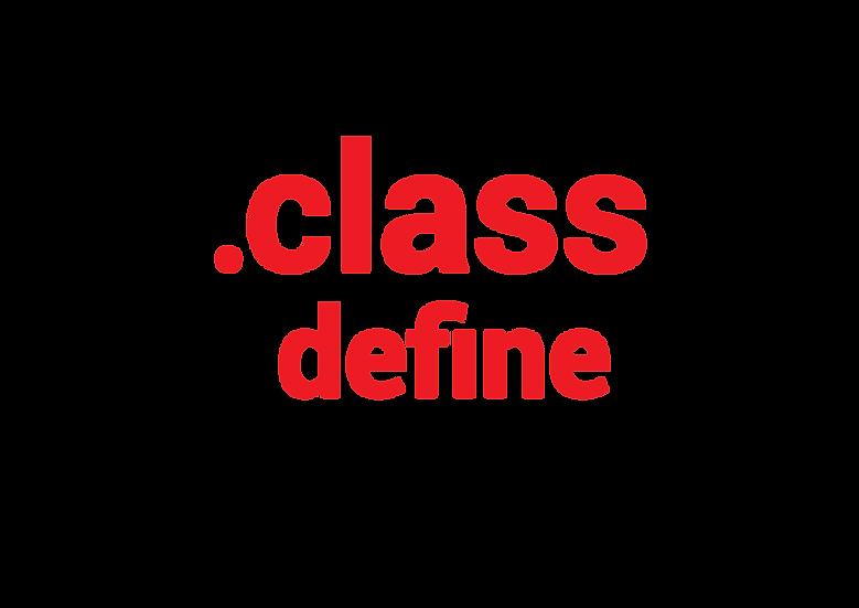 Class you define me