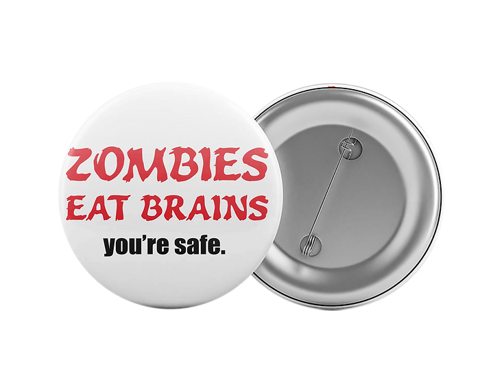 Zombieseat brains. You're safe