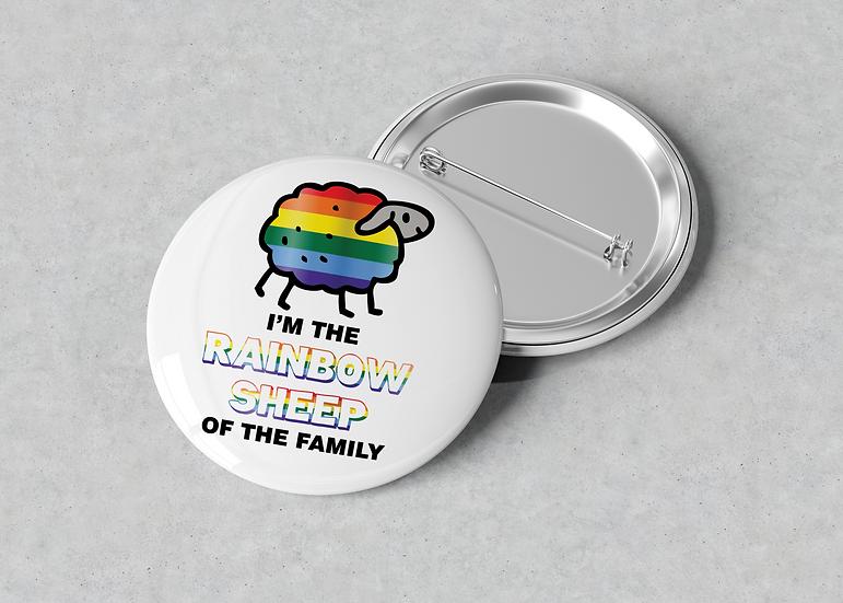 I'm a rainbow sheep