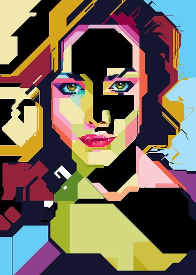Geometrical girl 5