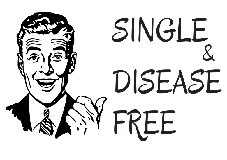 Single and disease free