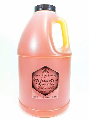 6 LBS Pure Raw Honey