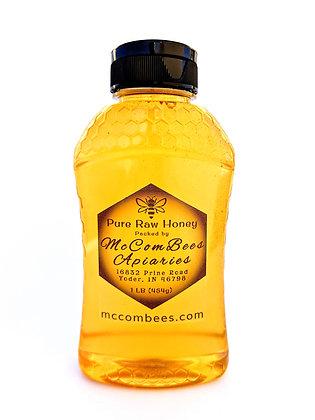 1 LB Pure Raw Honey