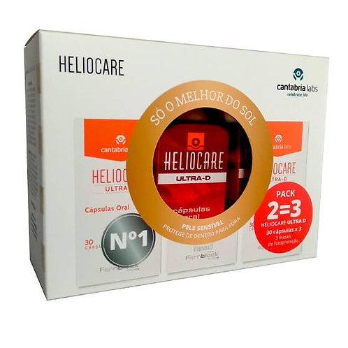 Pack Heliocare Ultra-D Proteção Solar 90 un - 3 Meses de Tratamento - Oferta 2=3