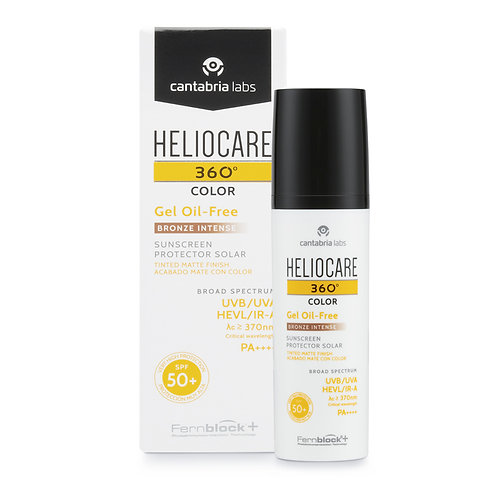 Heliocare - 360º gel oil-free com cor spf 50+ Bronze Intense 50ml