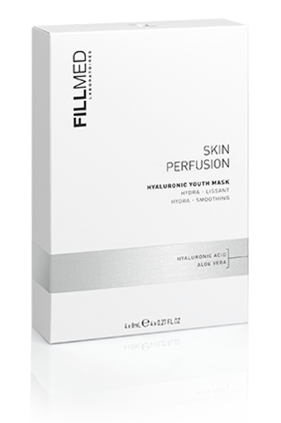 Skin Perfusion Hyaluronic Youth Mask 4 x 8 ML