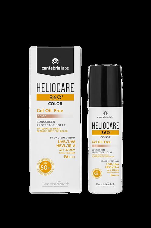 Heliocare - 360º gel oil-free com cor spf 50+ bege 50ml