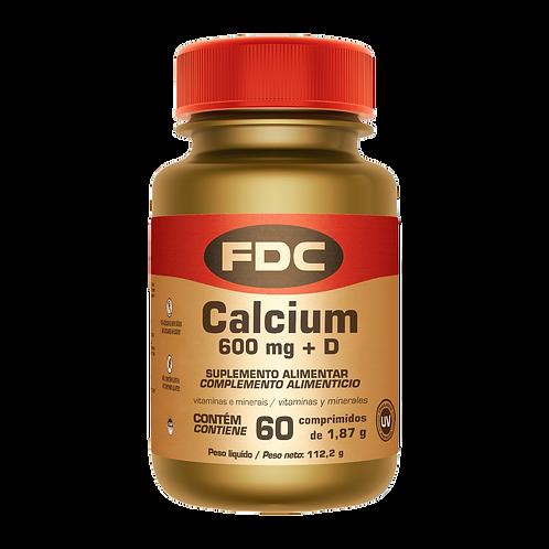FDC Cálcio e a Vitamina D- 60 Comprimidos