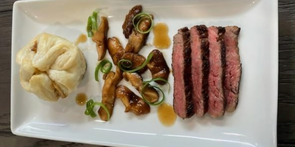 5 Course Chef's Table Dinner May - $65 per person BYOB
