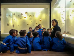 Pre-escolar en Museo del Oro