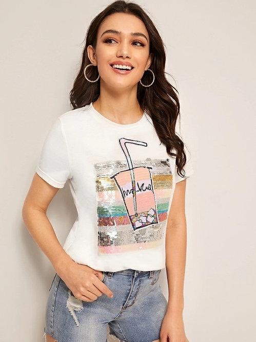 T-Shirt Lentejuelas