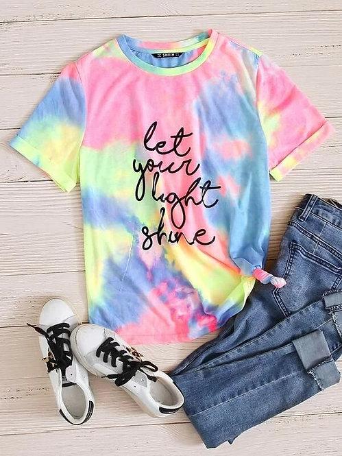 "T-Shirt ""Let Your Light Shine"""