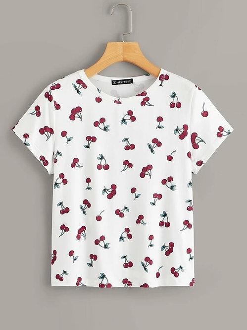 T-Shirt Cerezas