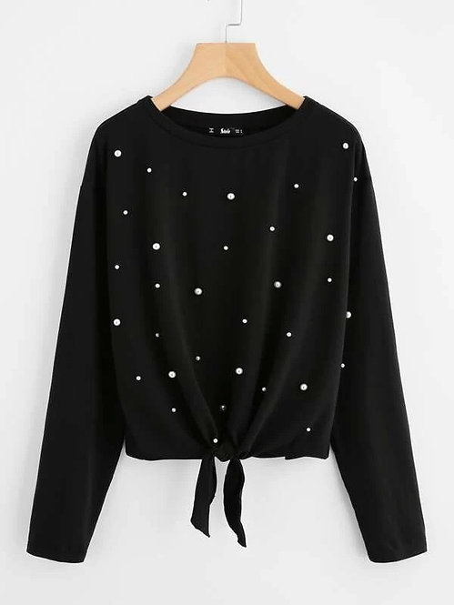 Sweater de Perlas