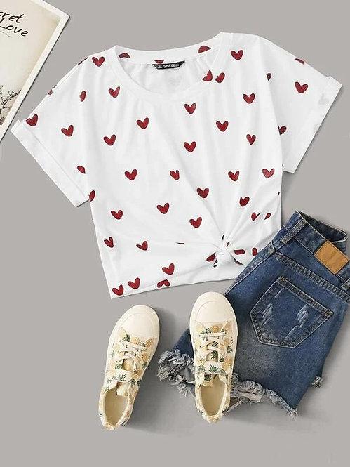 T-Shirt Corazones