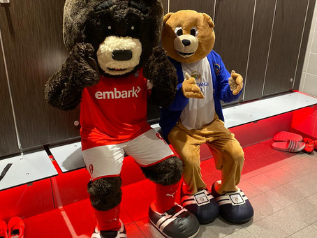 Attendance Ted and Miller Bear