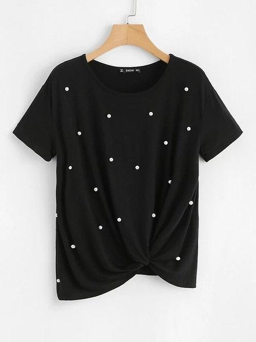 T-Shirt de perlas