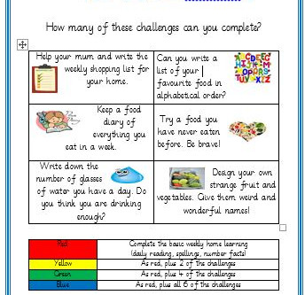 Y3/4 Home Learning