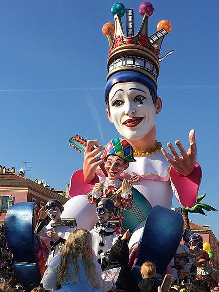 450px-Roi_du_Carnaval_de_Nice_2019