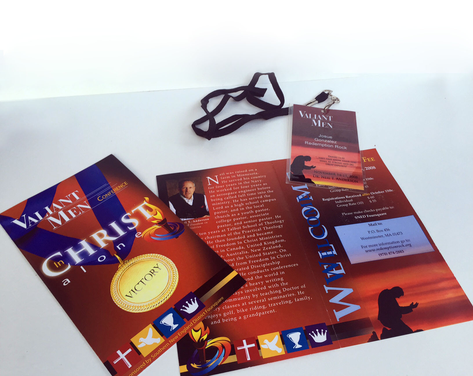 Name Tag & Trifold Brochure