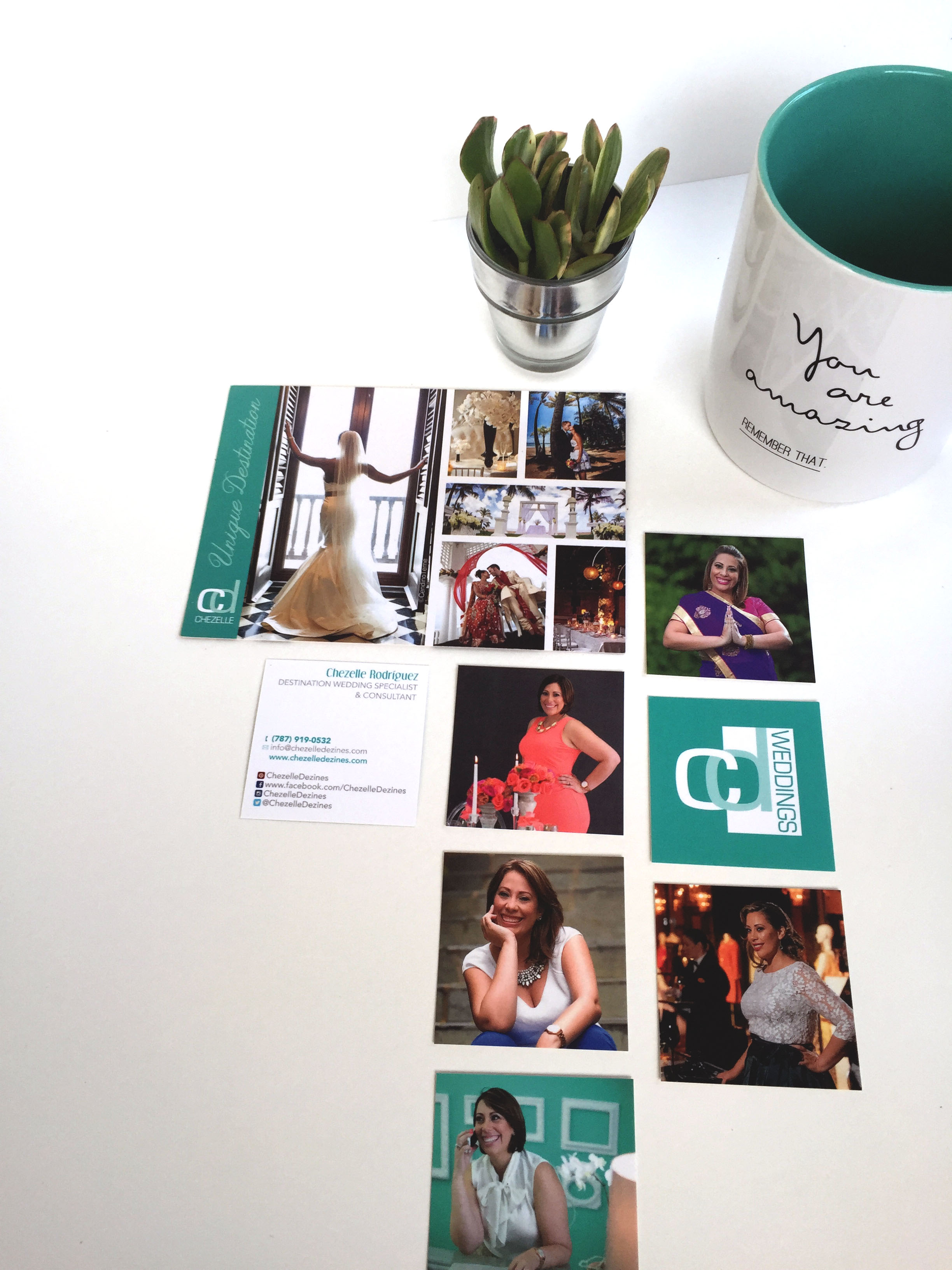 Postcard & Business Card