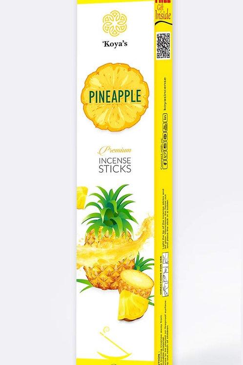 Pineapple Bamboo Agarbati Fragrance Pooja