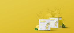 Saphala lemon herbal soap
