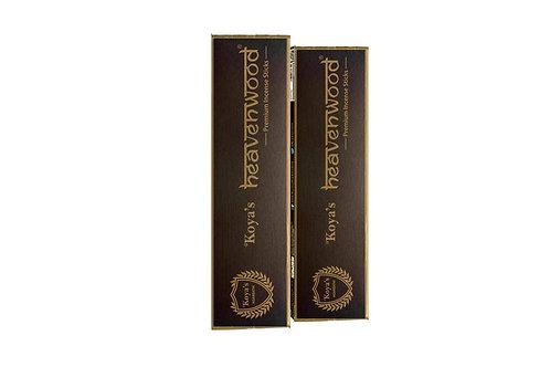 Koya's Heaven Wood Incense Sticks (Pack of 5)