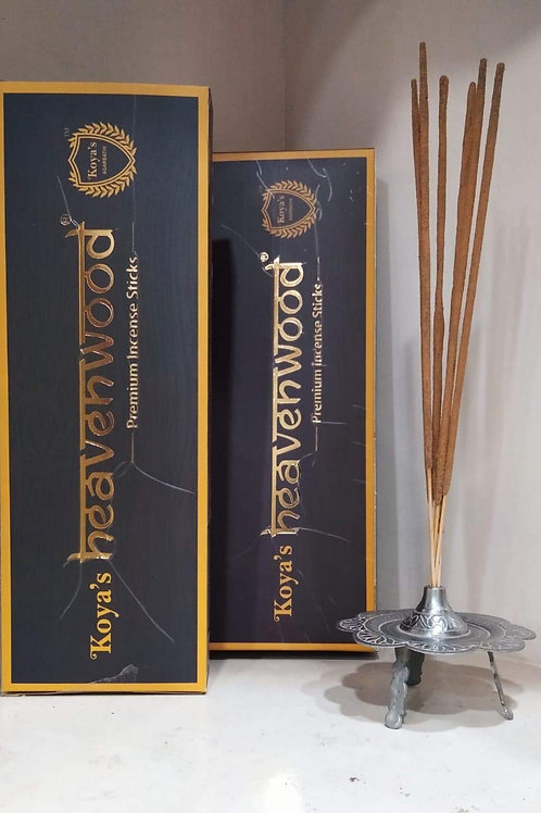 Koyas Heaven Wood Incense Sticks Fragrance for Pooja (Home/Office/Party) Pack of