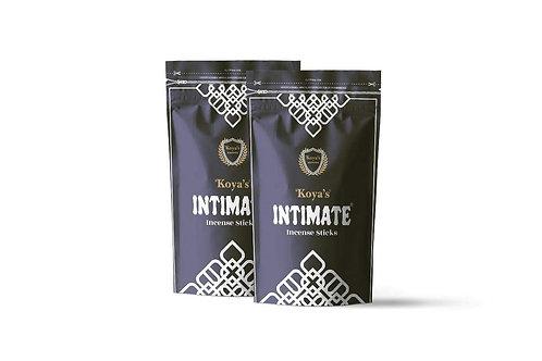 Koyas Intimate Black Zipper Premium Incense Sticks