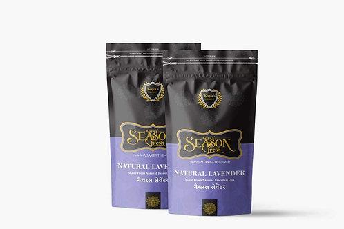 Koyas Natural Lavender Zipper Premium Incense Sticks