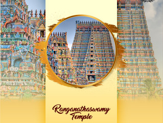 Koyas Incense Incredible temples of India :  SRIRANGAM The largest functioning temple in the world