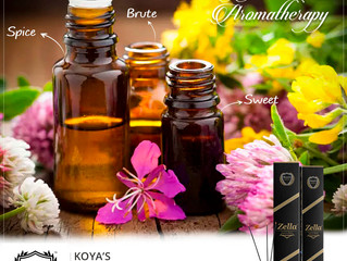 KOYA'S ZELLA 3 IN 1 AGARBATTI. To give our customers the best of Koya's aromatic experience,