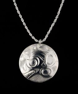 Killer Whale Sterling Silver Pendant