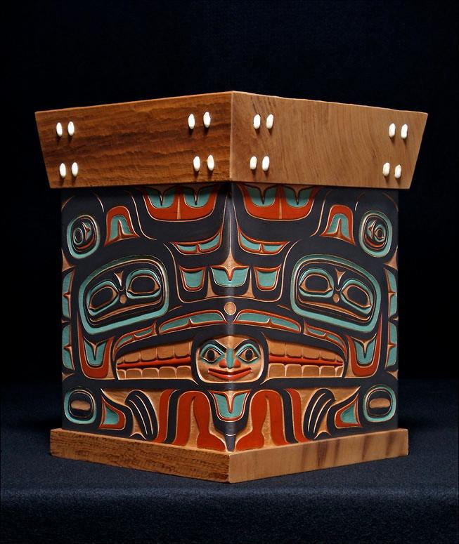 Eagle Raven Bentwood Box