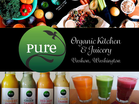Restaurant Announcement | Pure Kitchen & Juicery