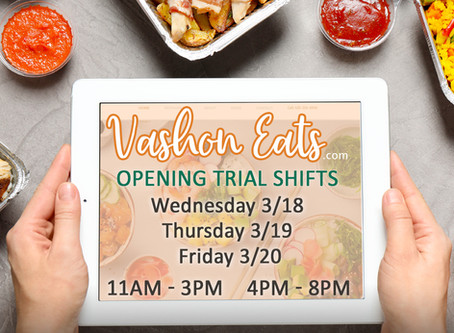 Vashon Eats Trial   Launches Wednesday March 18th 2020!
