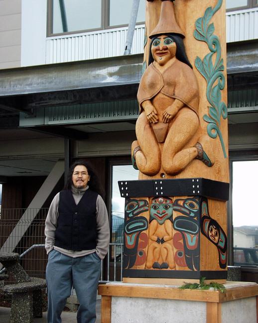 40' Tlingit Nation Totem Pole