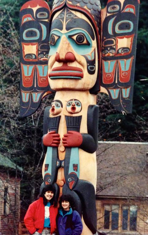 55' Chief Johnson Totem Pole