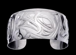 Chaak Eagle Sterling Silver Bracelet