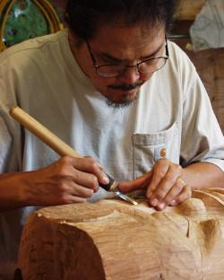 Carving Totem