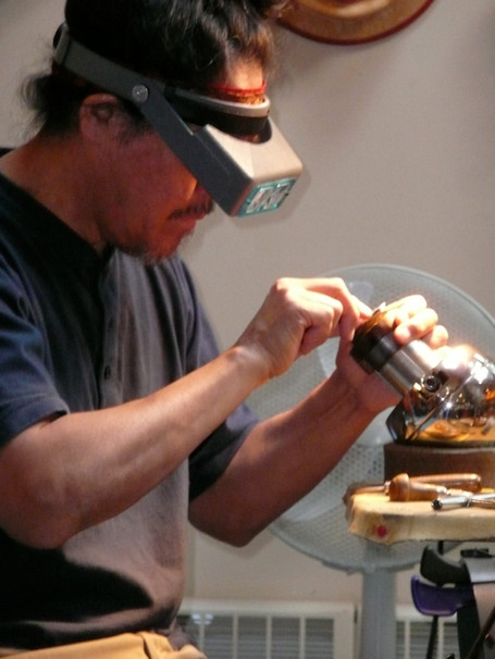 Hand Engraving Jewelry