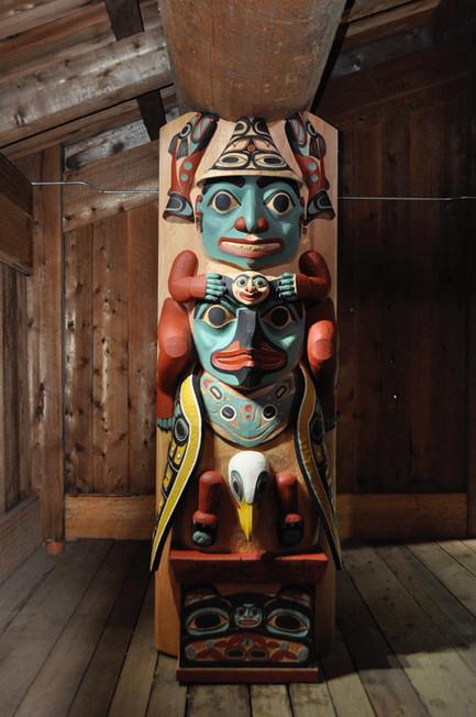 8' Tlingit Housepost