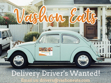 We are looking for more delivery drivers!