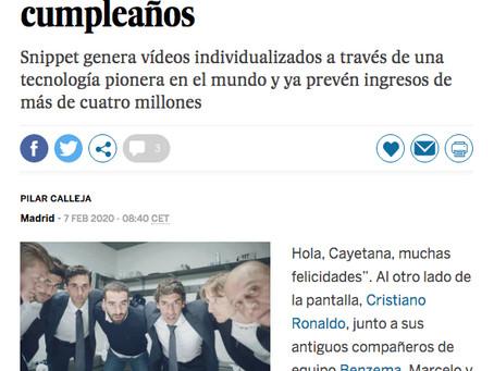 Entrevista en El País Negocios