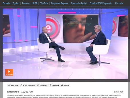 Nuestra plataforma en Emprende de RTVE