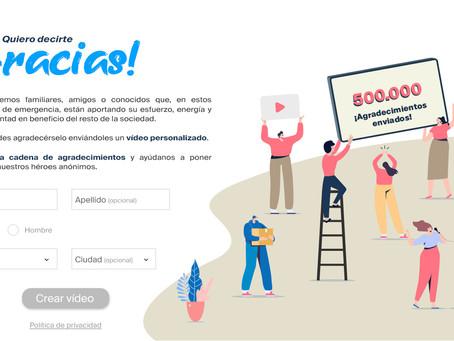 #QuieroDecirteGracias