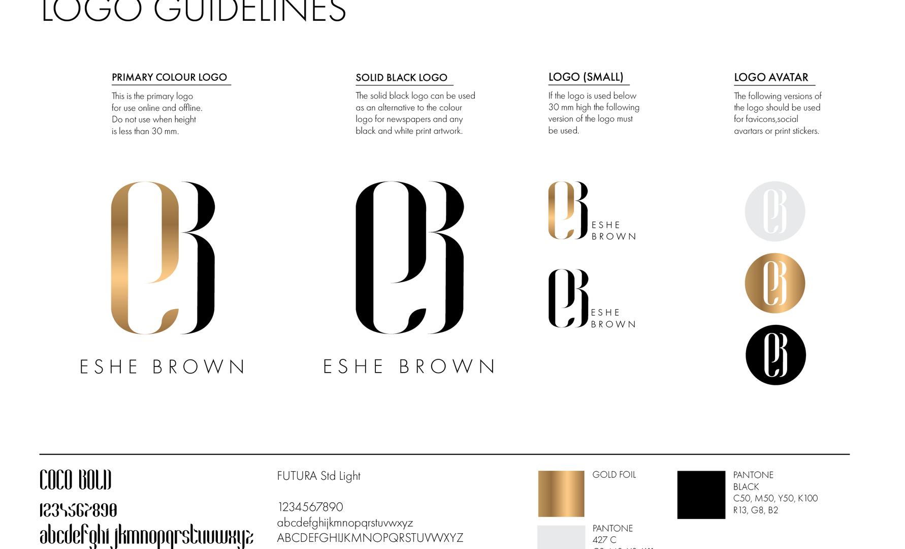 Logo & font guidelines